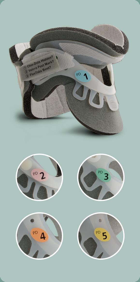 5 Größen für eine benutzerdefinierte Passform von Kleinkindern und pädiatrischen Patienten