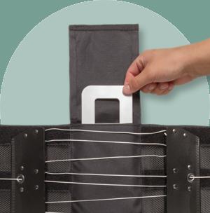 Vielseitig verwendbare Rückentasche